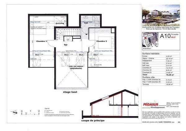 Sale apartment Bonneville 296500€ - Picture 5