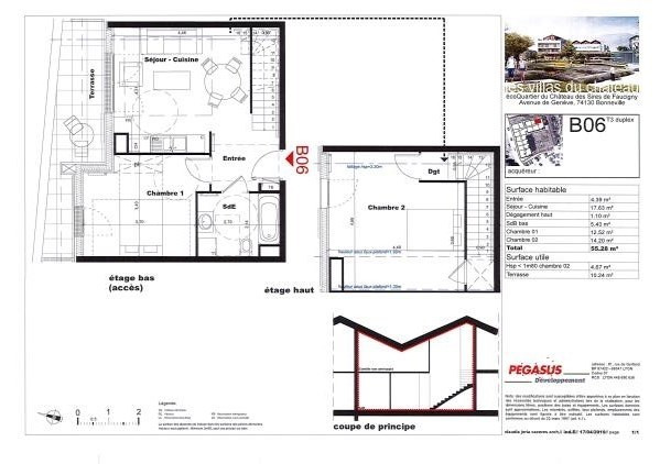 Vente appartement Bonneville 202500€ - Photo 3