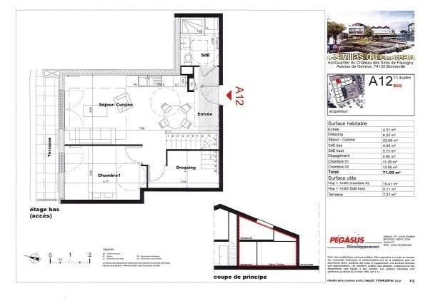 Vente appartement Bonneville 262500€ - Photo 4