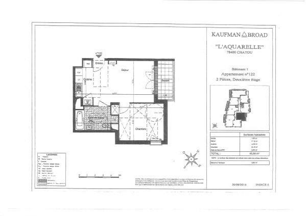 Rental apartment Chatou 928€ CC - Picture 9