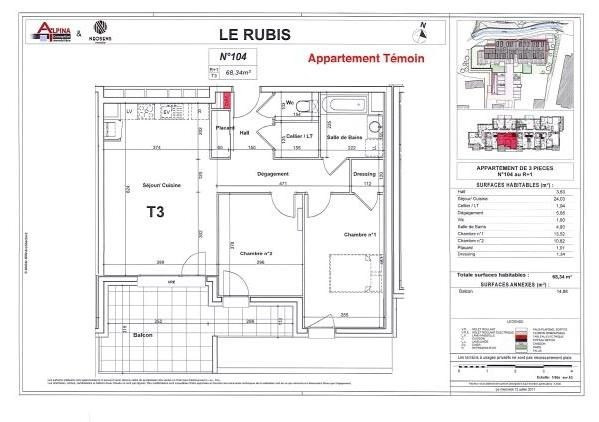 Vente appartement Bonneville 297 000€ - Photo 2