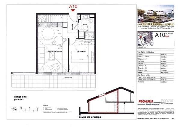 Sale apartment Bonneville 296500€ - Picture 4