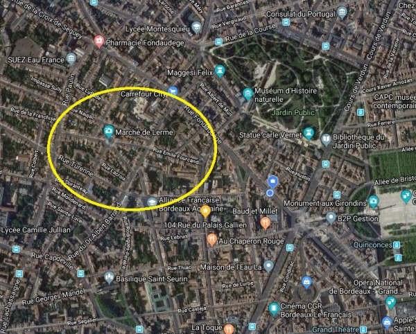 Sale building Bordeaux 848000€ - Picture 3