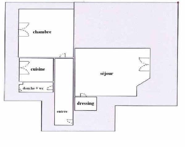 Vente appartement Boulogne billancourt 269000€ - Photo 1