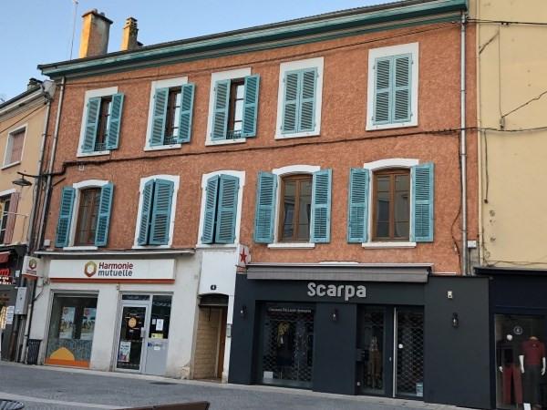 Rental apartment Bourgoin jallieu 390€ CC - Picture 1