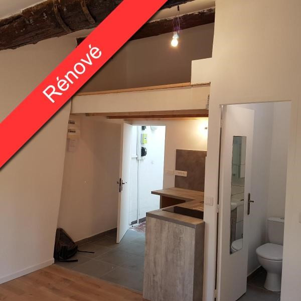 Rental apartment Aix en provence 550€ CC - Picture 1
