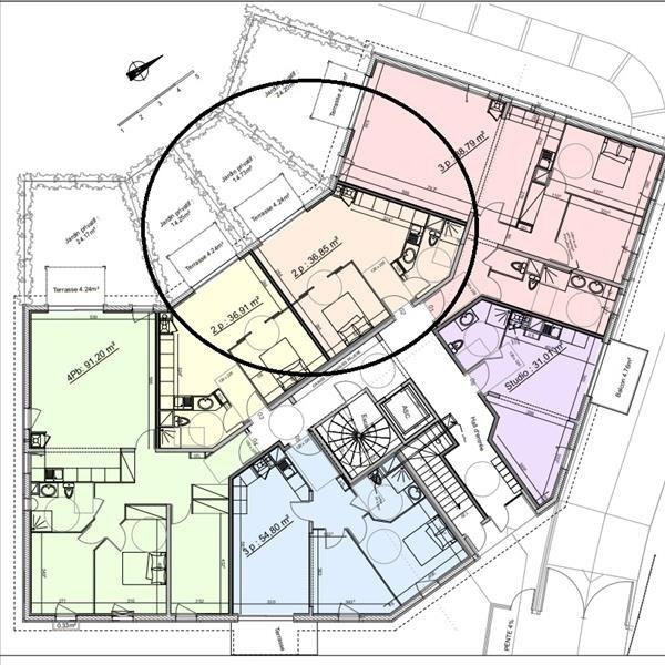Vente appartement Benerville sur mer 233500€ - Photo 2
