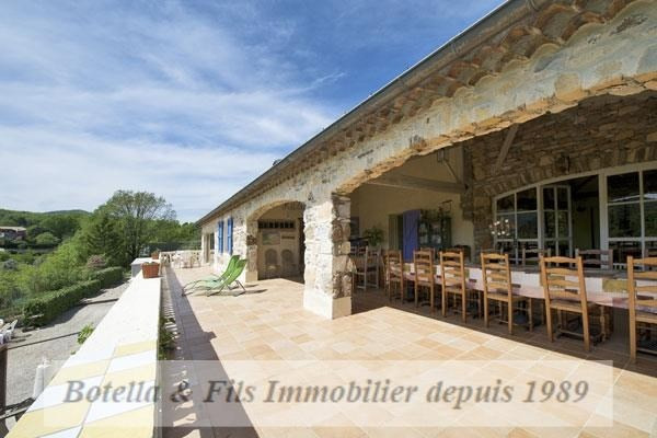 Deluxe sale house / villa Les vans 598000€ - Picture 3