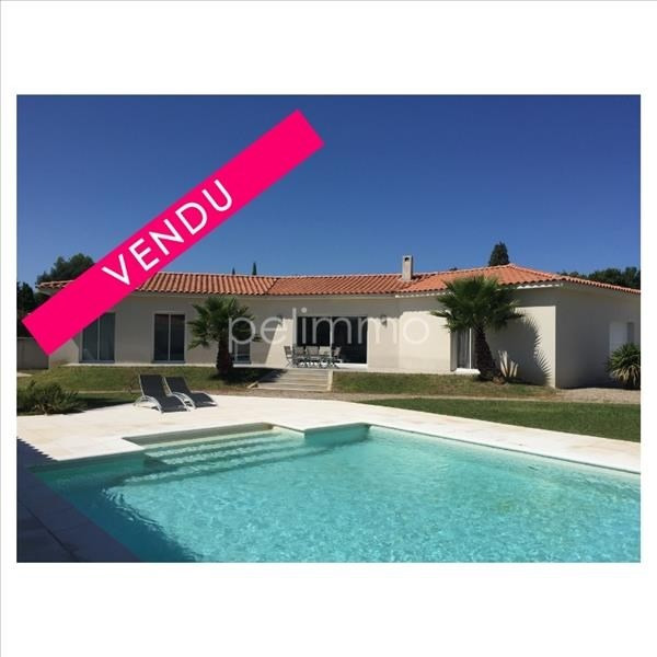 Deluxe sale house / villa La barben 596 000€ - Picture 1