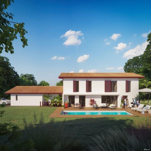 Vente de prestige maison / villa Arbonne 1017600€ - Photo 1