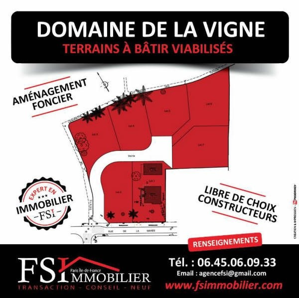 New home sale program St leu la foret  - Picture 1