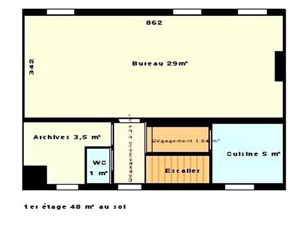Revenda residencial de prestígio casa Puteaux/centre ville 1150000€ - Fotografia 3