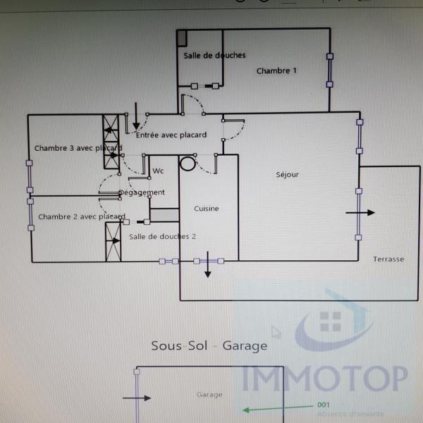 Vendita appartamento Menton 367000€ - Fotografia 16