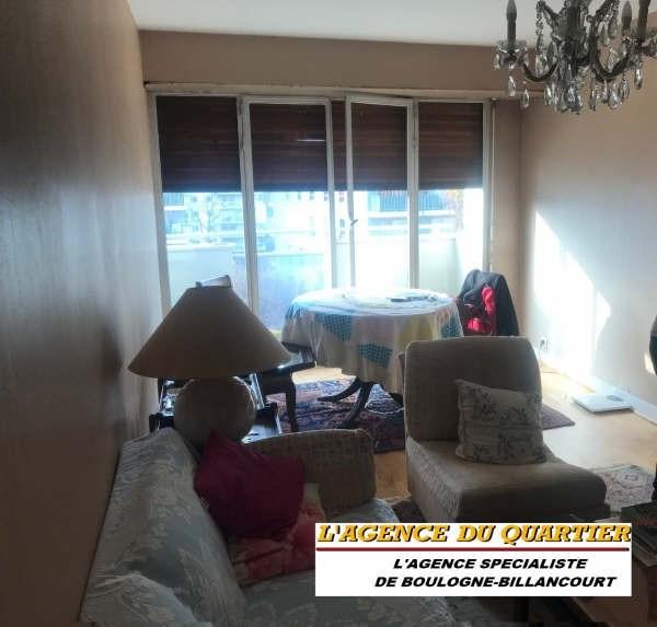Sale apartment Boulogne billancourt 498000€ - Picture 1
