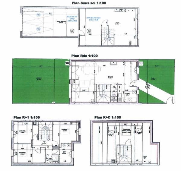 Vendita casa Houilles 523000€ - Fotografia 1