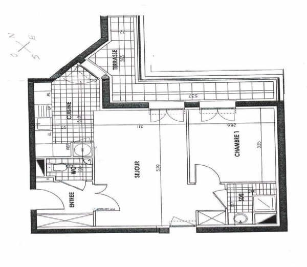 Rental apartment Maisons-laffitte 1195€ CC - Picture 1