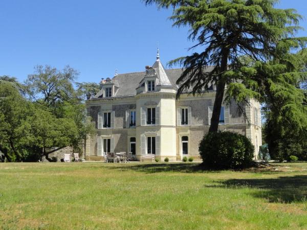 Château sur 4 ha de parc