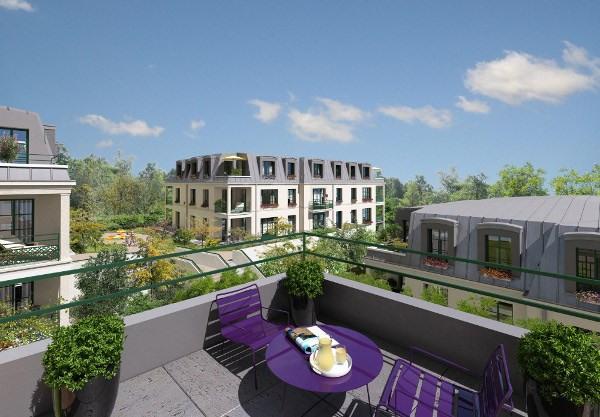 Rental apartment Villennes sur seine 1190€ CC - Picture 1