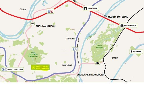 Venta  terreno La celle-saint-cloud 667800€ - Fotografía 2