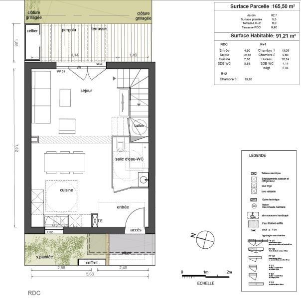 Venta  casa Marsillargues 249000€ - Fotografía 3