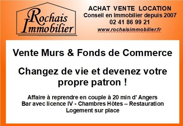Vente fonds de commerce boutique Saint georges sur loire 248600€ - Photo 1