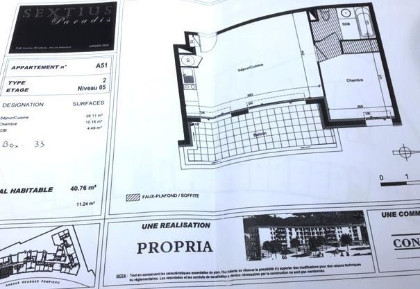 Investment property apartment Aix en provence 546000€ - Picture 8