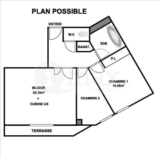 Sale apartment Levallois perret 475000€ - Picture 6