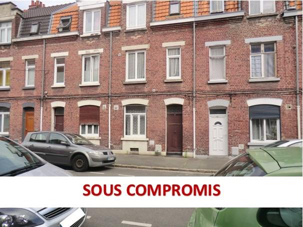 Vente maison / villa Lille 119000€ - Photo 1