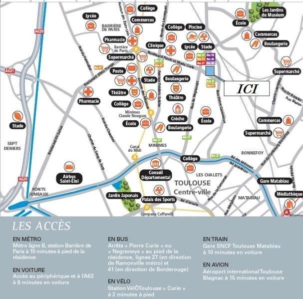 Vente appartement Toulouse 262000€ - Photo 4