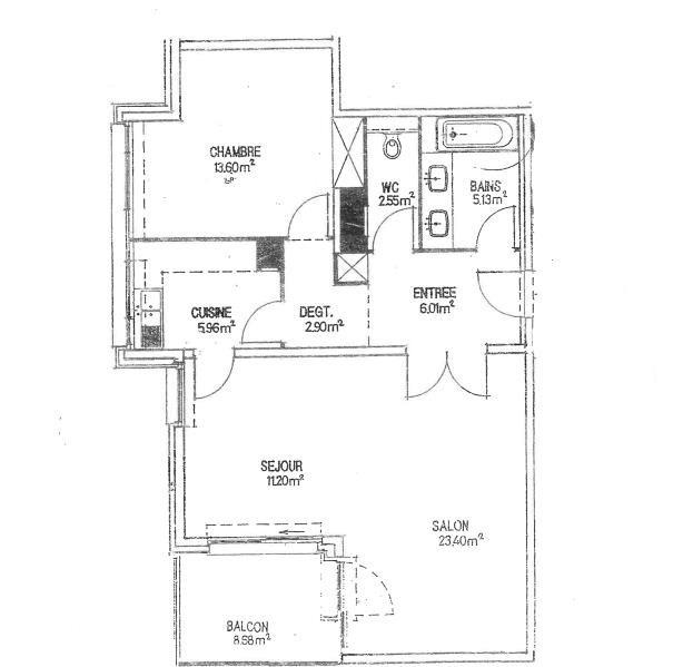 Sale apartment Strasbourg 339300€ - Picture 3