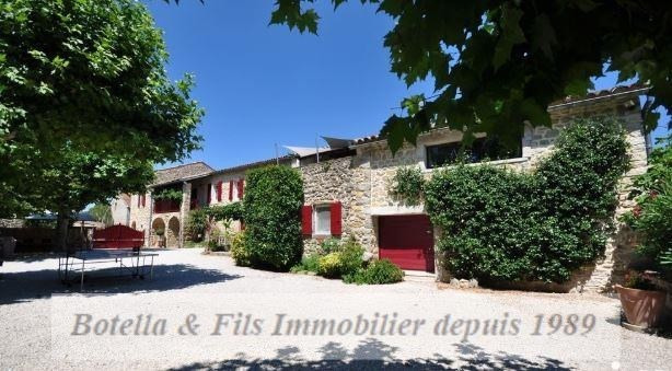 Deluxe sale house / villa Uzes 885000€ - Picture 1