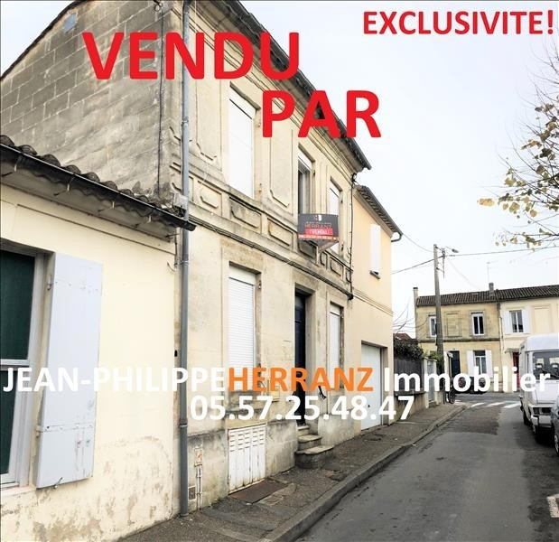 Sale house / villa Libourne 140 000€ - Picture 1