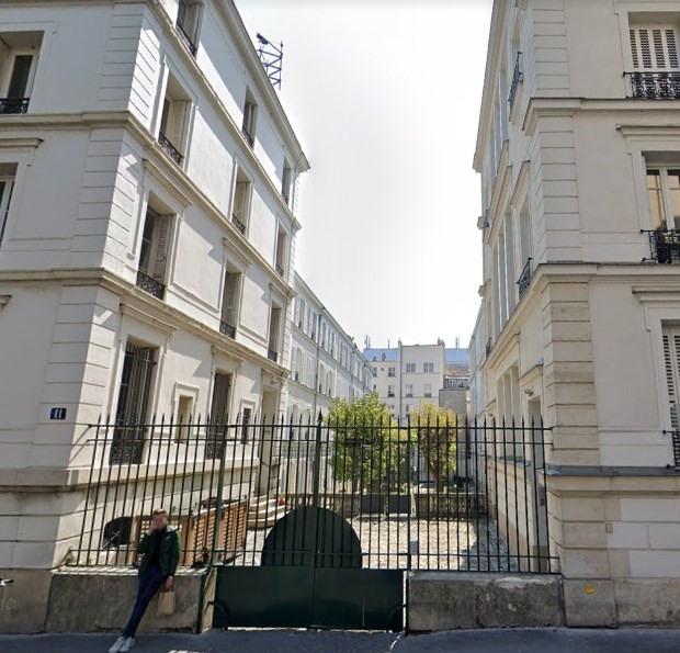 Vente de prestige appartement Paris 8ème 1040000€ - Photo 2