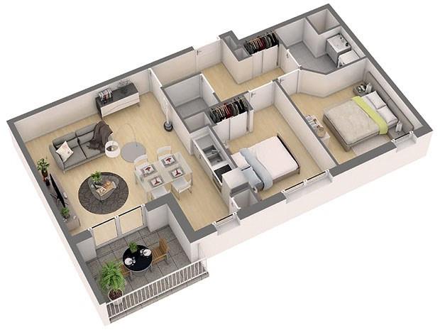 Produit d'investissement appartement Nantes 204000€ - Photo 3