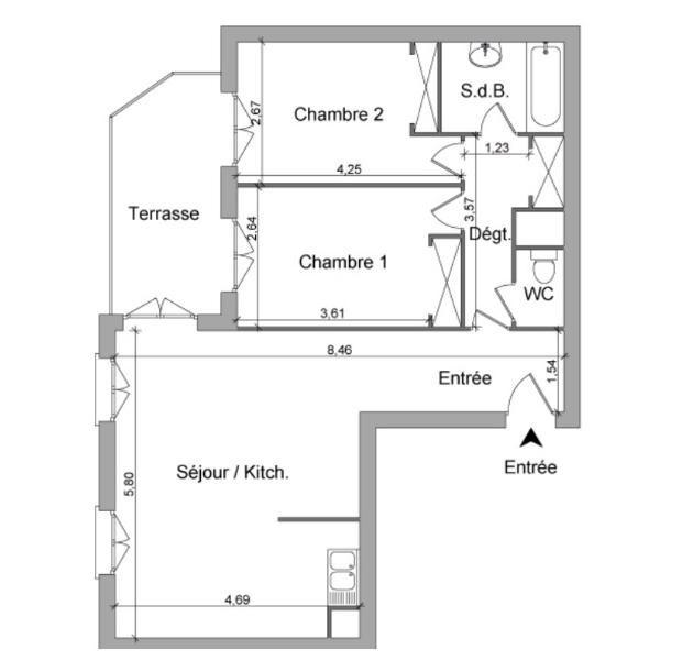 Location appartement Villefranche sur saone 749,50€ CC - Photo 10