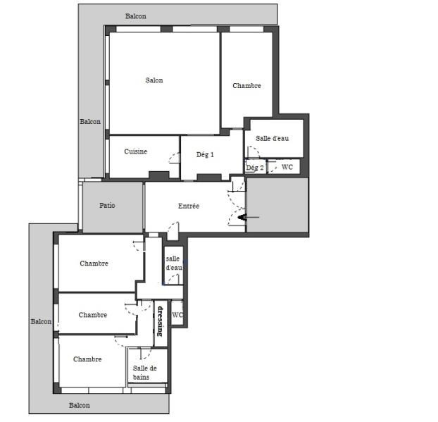 Sale apartment Boulogne billancourt 1995000€ - Picture 5