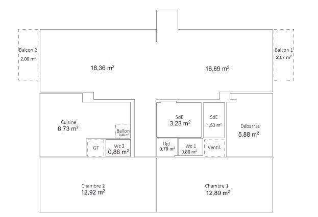 Vente appartement Boulogne billancourt 598000€ - Photo 1