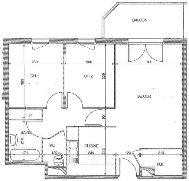 Location appartement Toulouse 658€ CC - Photo 3