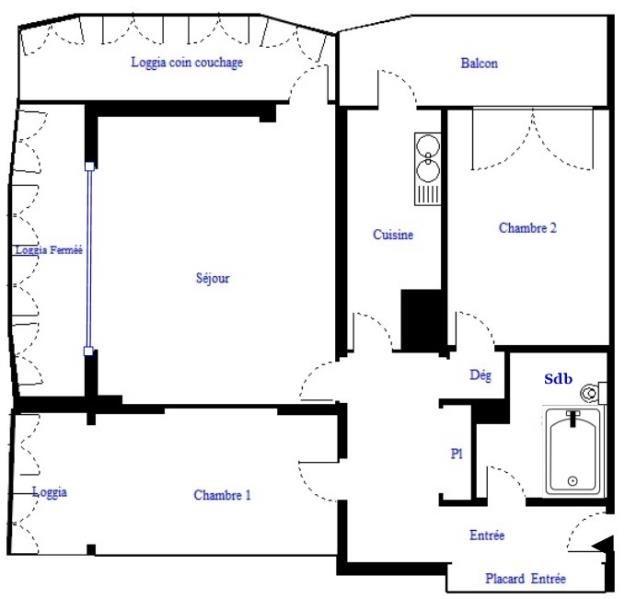 Revenda apartamento Paris 18ème 469500€ - Fotografia 3