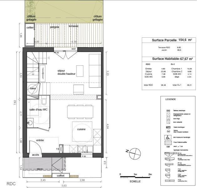 Sale house / villa Marsillargues 217000€ - Picture 1