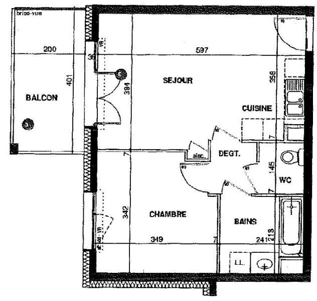 Venta  apartamento Annemasse 155000€ - Fotografía 4