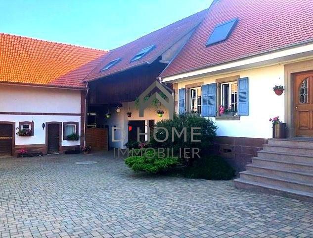Revenda residencial de prestígio casa Hochfelden 577000€ - Fotografia 1