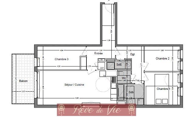 Sale apartment Bormes les mimosas 376000€ - Picture 2