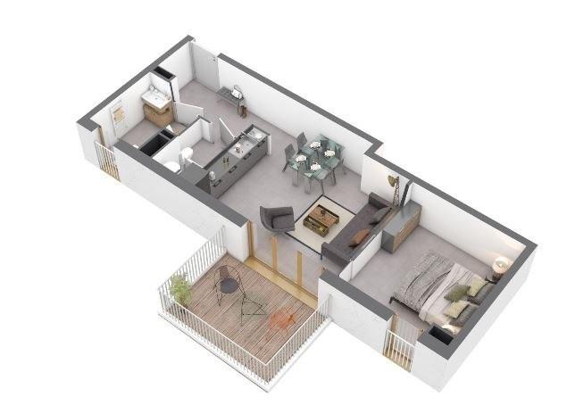 Produit d'investissement appartement Ajaccio 160000€ - Photo 1