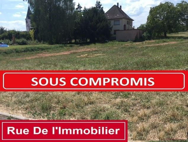 Sale site Hochfelden 65 650€ - Picture 1