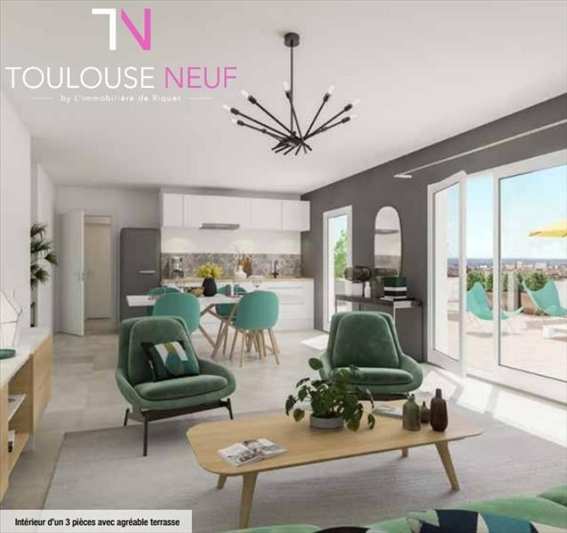 Vente appartement Toulouse 280 000€ - Photo 2