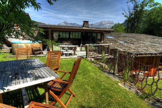 Deluxe sale house / villa Les houches 1 600 000€ - Picture 2