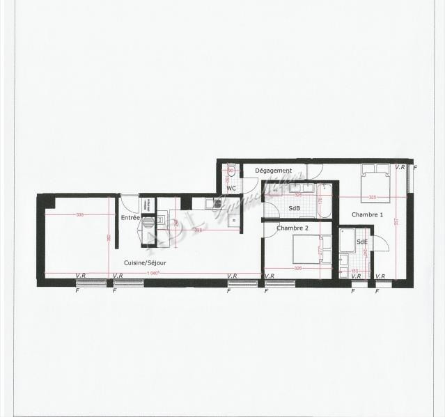 Vente appartement Mouy 175990€ - Photo 2