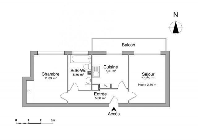 Affitto appartamento Challes-les-eaux 527€ CC - Fotografia 3