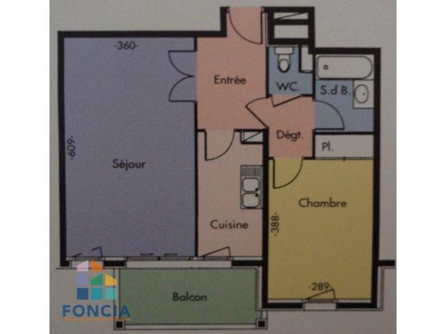 Location appartement Suresnes 1350€ CC - Photo 7